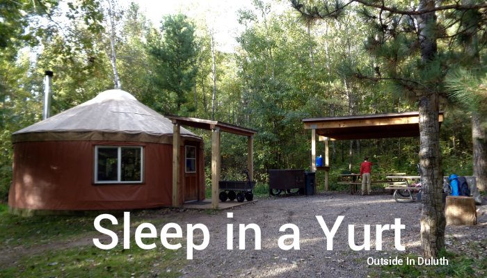 Who Needs A Tent Sleep In A Yurt At A Mn State Park